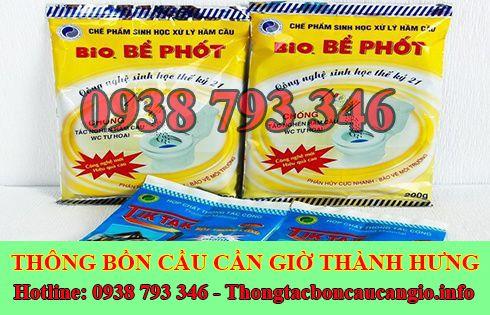 Bán bột thông bồn cầu Huyện Cần Giờ giá rẻ 0938793346