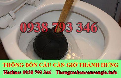 Thông bồn cầu tắc băng vệ sinh Huyện Cần Giờ 0938793346