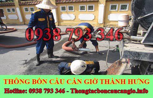 dịch vụ nạo vét hố ga Huyện Cần Giờ Thành Hưng