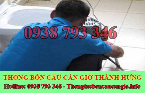 Số điện thoại thông bồn cầu Huyện Cần Giờ giá rẻ 0938793346