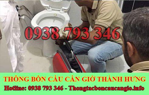 Số điện thoại thông cống nghẹt Huyện Cần Giờ giá rẻ 0938793346