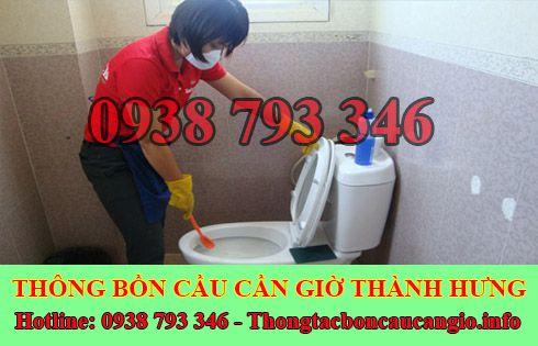 Thợ sửa bồn cầu nhà vệ sinh bị nghẹt tại Huyện Cần Giờ uy tín.