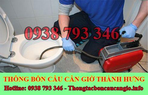 Thợ sữa bồn cầu toilet bị nghẹt Huyện Cần Giờ 0938793346