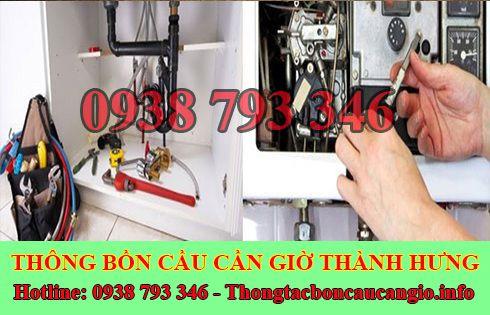 Thợ sửa chữa điện nước Huyện Cần Giờ tại nhà 0938793346