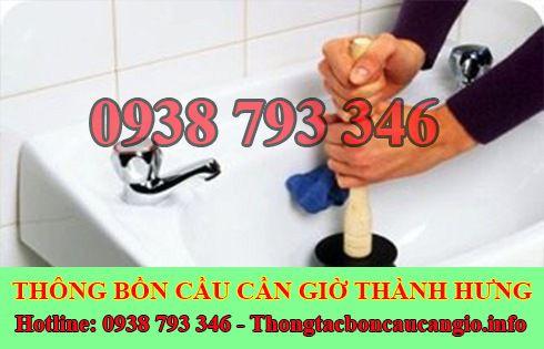 Thợ thông tắc bồn rửa mặt lavabo Huyện Cần Giờ 0938793346