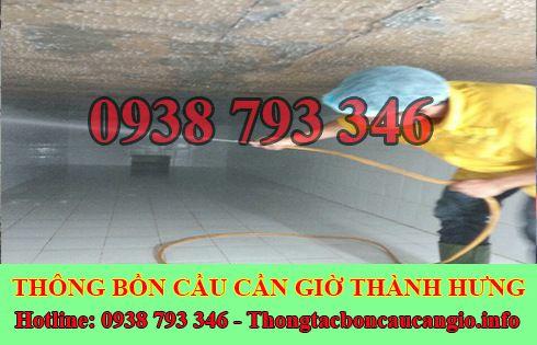 Bảng giá vệ sinh bể chứa nước ngầm Huyện Cần Giờ 0938793346