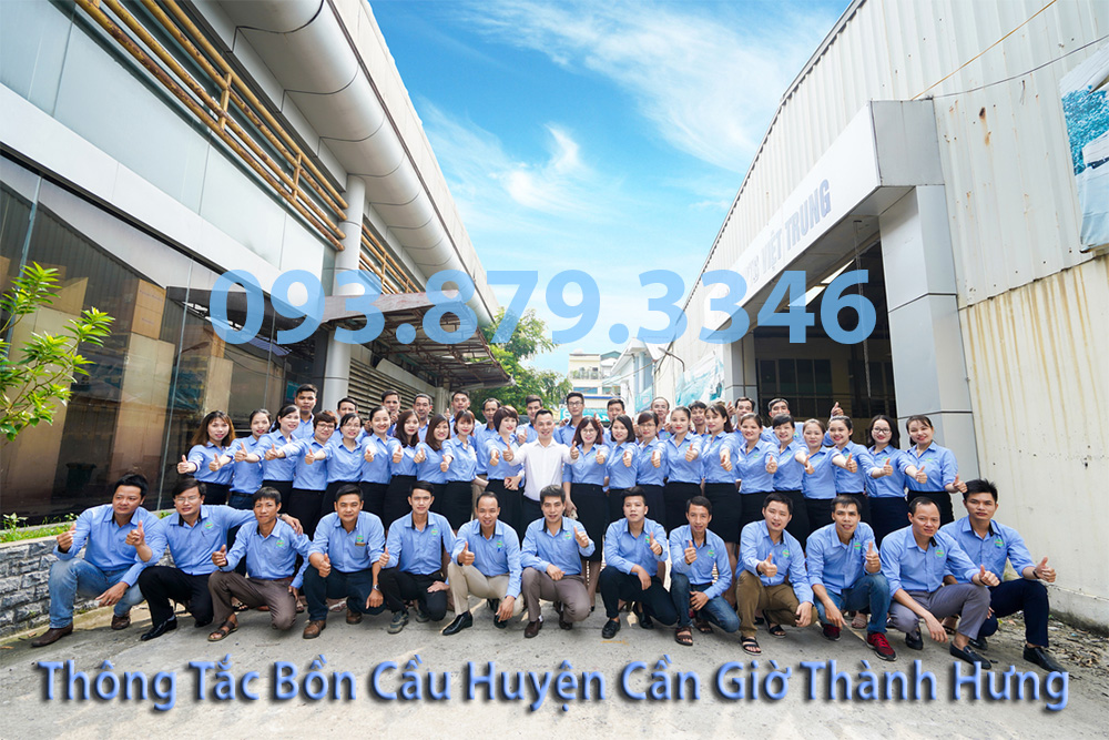 Đội ngũ nhân viên công ty thông tắc bồn cầu huyện Cần Giờ Thành Hưng